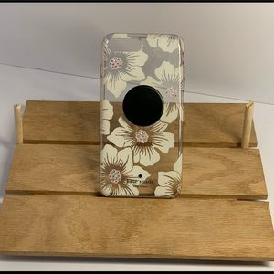 Kate Spade iPhone 7/8 Plus Case with pop socket